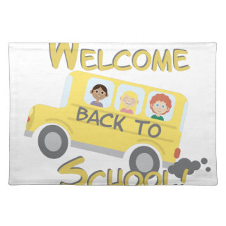 Back To School Placemat