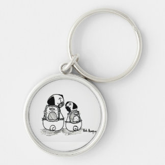 Back to School Pugs Key Ring