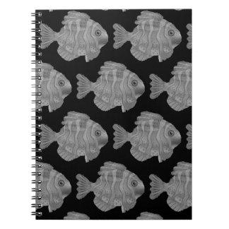 Back To School, School Of Fish Notebook