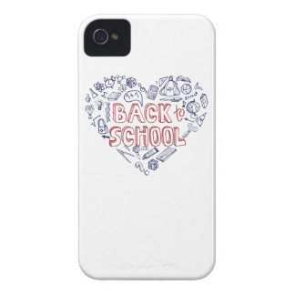 Back to School Supplies Sketchy Notebook iPhone 4 Case