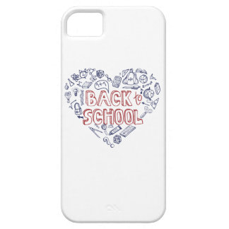 Back to School Supplies Sketchy Notebook iPhone 5 Cover