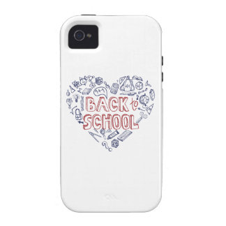 Back to School Supplies Sketchy Notebook Case-Mate iPhone 4 Cases
