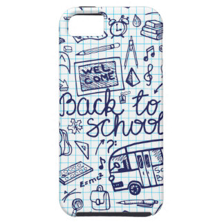 Back to School Supplies Sketchy Notebook decor iPhone 5 Cases