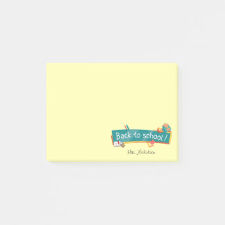 Back to School Teacher Post-it® Notes 4 x 3