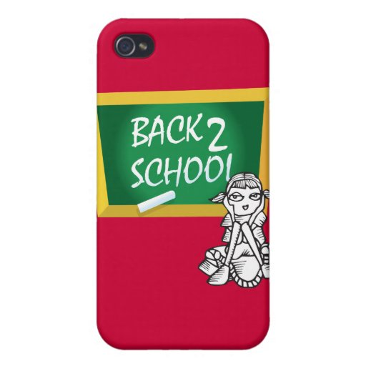 Back to School Tech Case iPhone 4 Covers