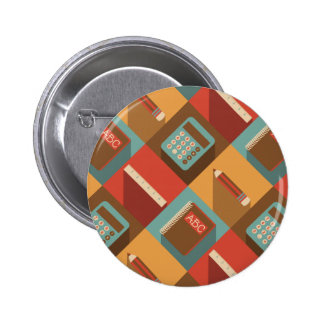 Back To School Tools (Hipster Style) 6 Cm Round Badge