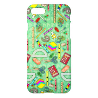 Back to School Unicorn iPhone 7 Case