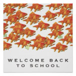 BACK-TO-SCHOOL WELCOME POSTER