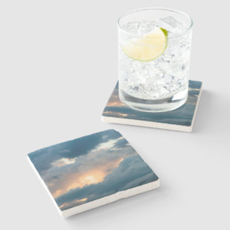back to the early show stone coaster