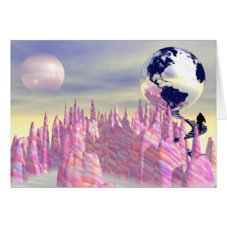 Back to the Earth Greeting Card