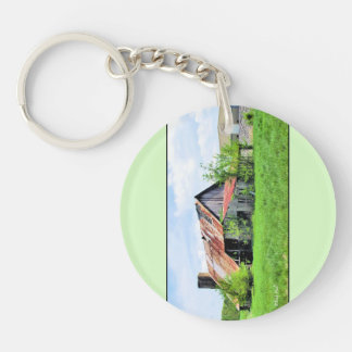 Back to the Future... and Back Again Keychain
