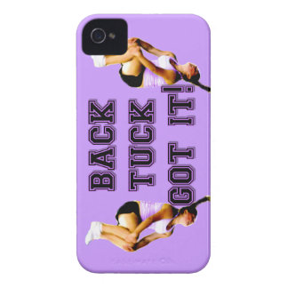 Back tuck cheer BlackBerry Bold Barely There Case iPhone 4 Case