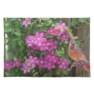 Back Yard Cardinal Placemat
