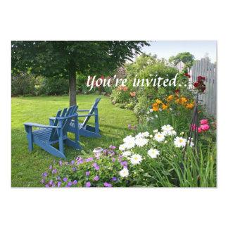 Back Yard Garden Card