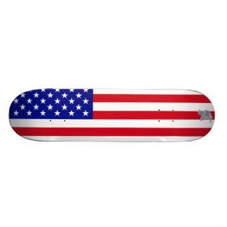 Backflip American Flag Skateboard
