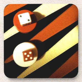 Backgammon Coaster