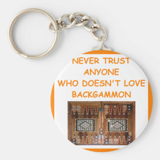 backgammon key chains