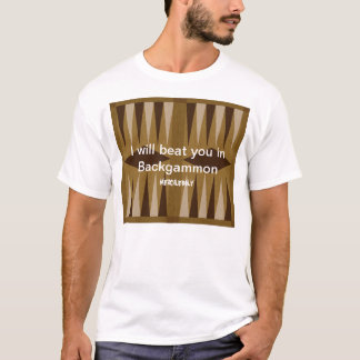 Backgammon: No Mercy T-Shirt