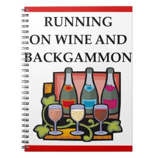 BACKGAMMON NOTEBOOKS