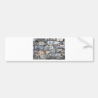 Backgound of natural stones as wall bumper sticker