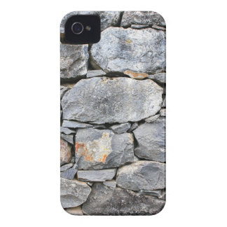 Backgound of natural stones as wall iPhone 4 Case-Mate case