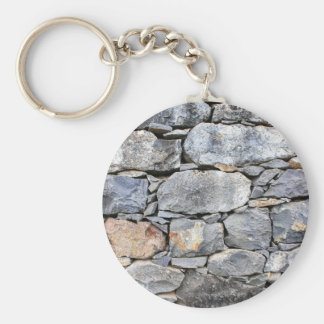 Backgound of natural stones as wall key ring