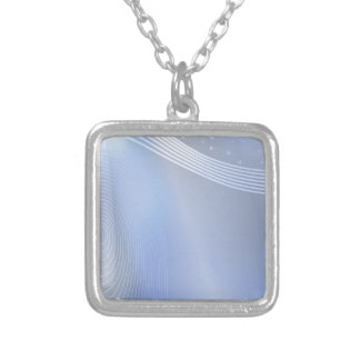background #30 silver plated necklace