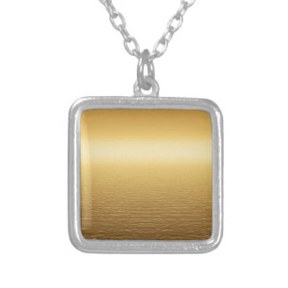 background #4 silver plated necklace