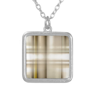 background #62 silver plated necklace