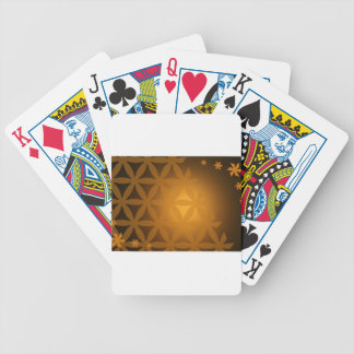 background #6 bicycle playing cards