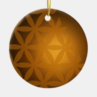 background #6 ceramic ornament