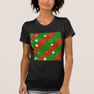 background abstrac christmas pattern T-Shirt