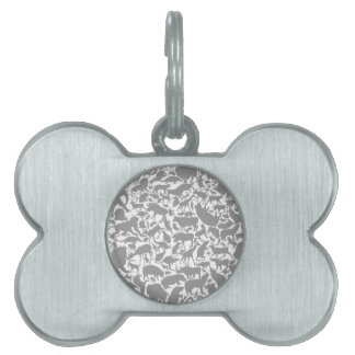 Background animals2 pet name tag