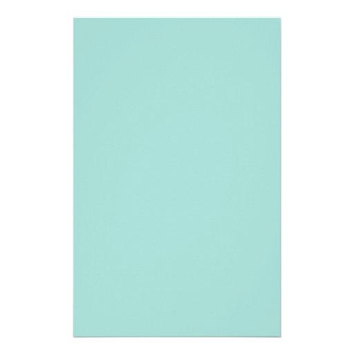 Background Color - Blue Stationery Design