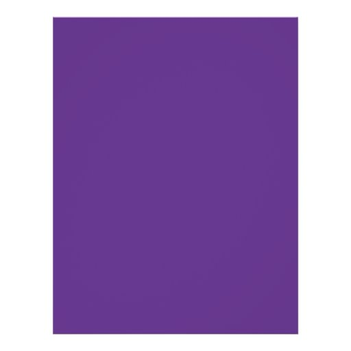 Background Color - Purple Full Color Flyer
