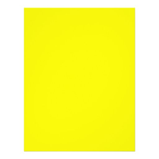 Background Color - Yellow Flyers