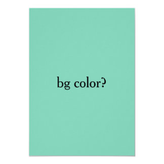 background colour card
