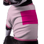 Background Colour FF0099 Fuchsia Magenta Hot Pink Doggie Tee