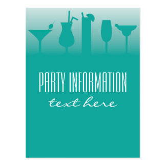 Background for cocktail party invitations