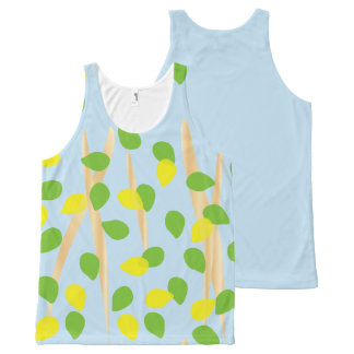 Background Melody All-Over Print Singlet