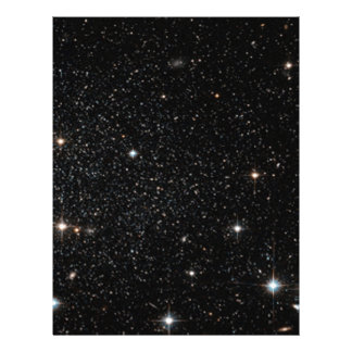 Background - Night Sky & Stars 21.5 Cm X 28 Cm Flyer