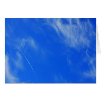Background of blue sky. greeting card