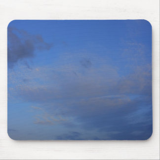 Background of blue sky. mouse pad