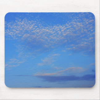 Background of blue sky mouse pads