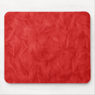 Background PAPER TEXTURE - dirty red Mouse Pad