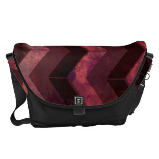 Background Pattern Courier Bags