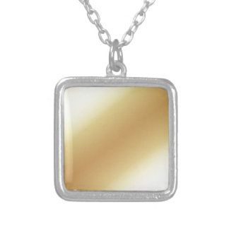 background silver plated necklace