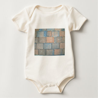 Background Texture of a Brick Pavement Baby Creeper