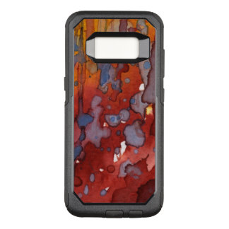 background watercolor 7 OtterBox commuter samsung galaxy s8 case