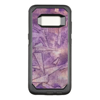 background watercolor OtterBox commuter samsung galaxy s8 case